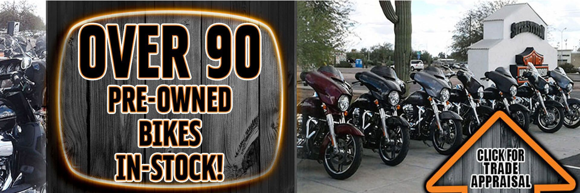 Get Your FREE Trade Appraisal Today @ Superstition Harley-Davidson® in Apache Junction 85120