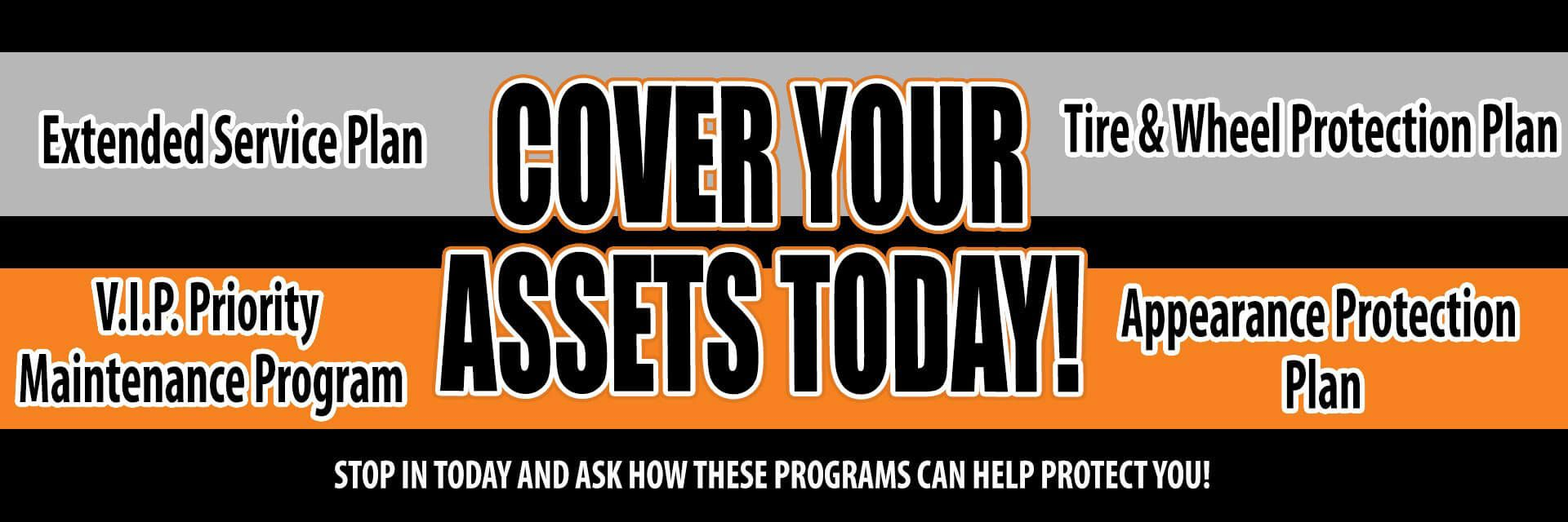 Cover Your Assets with an extended service plan at Superstition Harley-Davidson