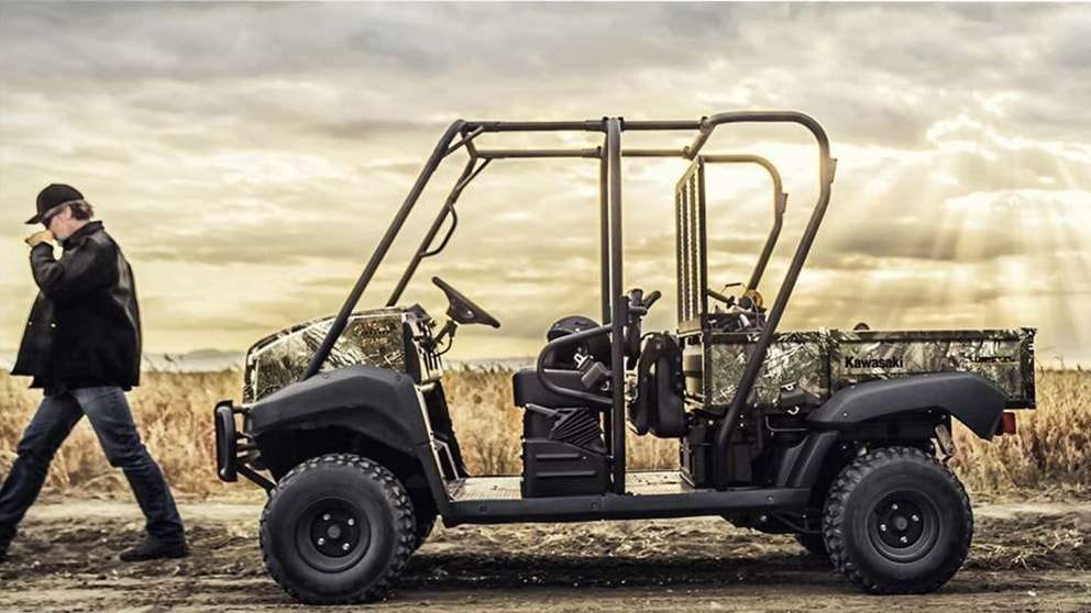 2018 Kawasaki Mule 4010 is available at Country Cycle | Winterset, IA  50273