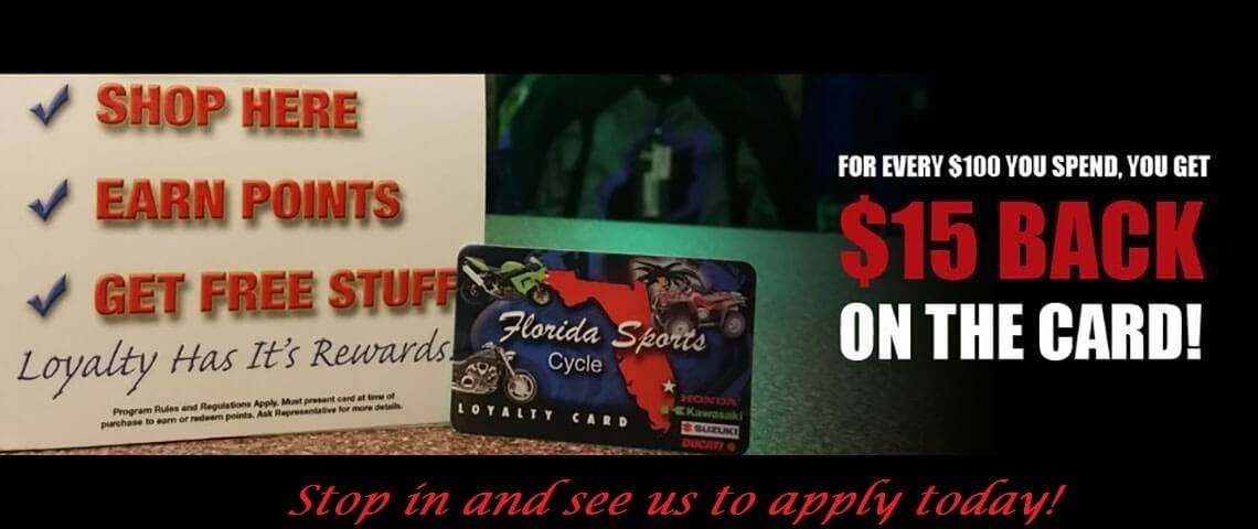 Florida Sports Cycle & ATV is located in Stuart, FL  Shop
