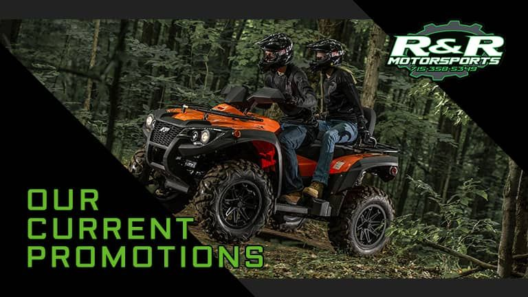 Current Promotions at R&R Motorsports | Hazelhurst, WI