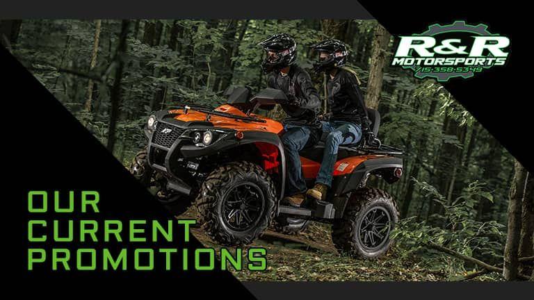Current Promotions at R&R Motorsports | Hazelhurst, WI