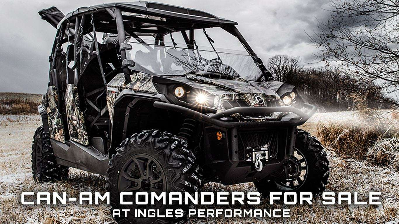 Can-Am Commanders For Sale at Ingles Performance in Phoenix, NY
