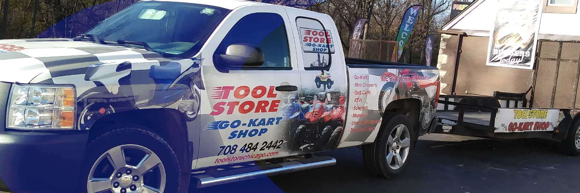 The Tool Store >> Tool Store Go Kart Shop Located In Forest View Il Shop
