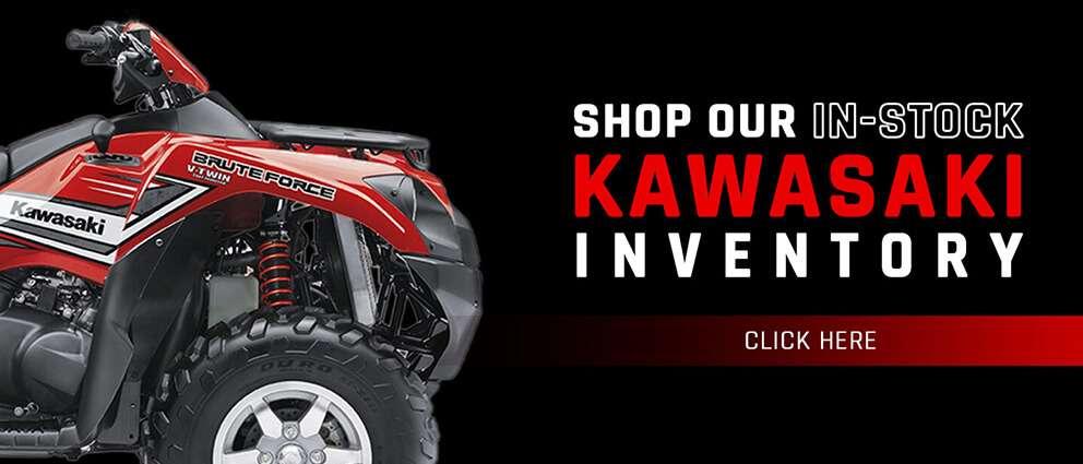 Shop Kawasaki at Eddie Hill's Fun Cycles
