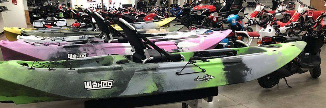 Kayaks for sale at Station Park Honda in Louisville, KY