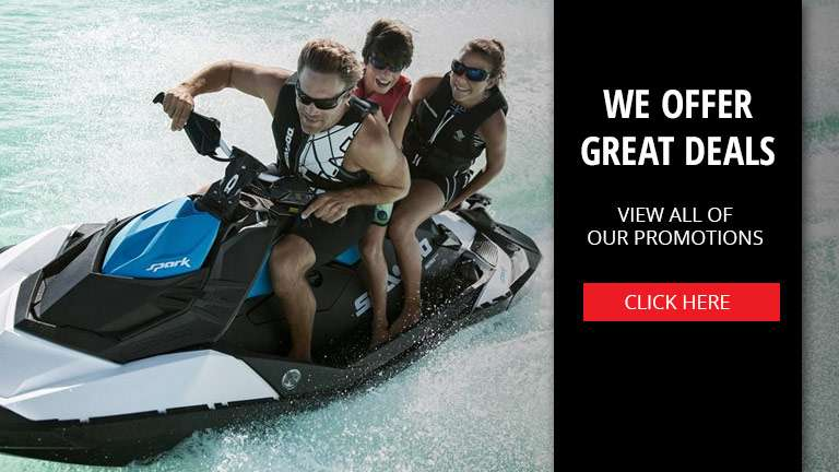 Promotions offered at Outlaw Powersports located in Savannah, GA.