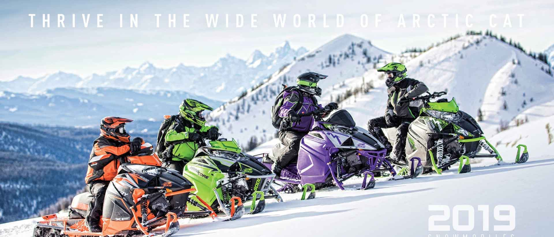 Shop 2019 Arctic Cat Snowmobiles