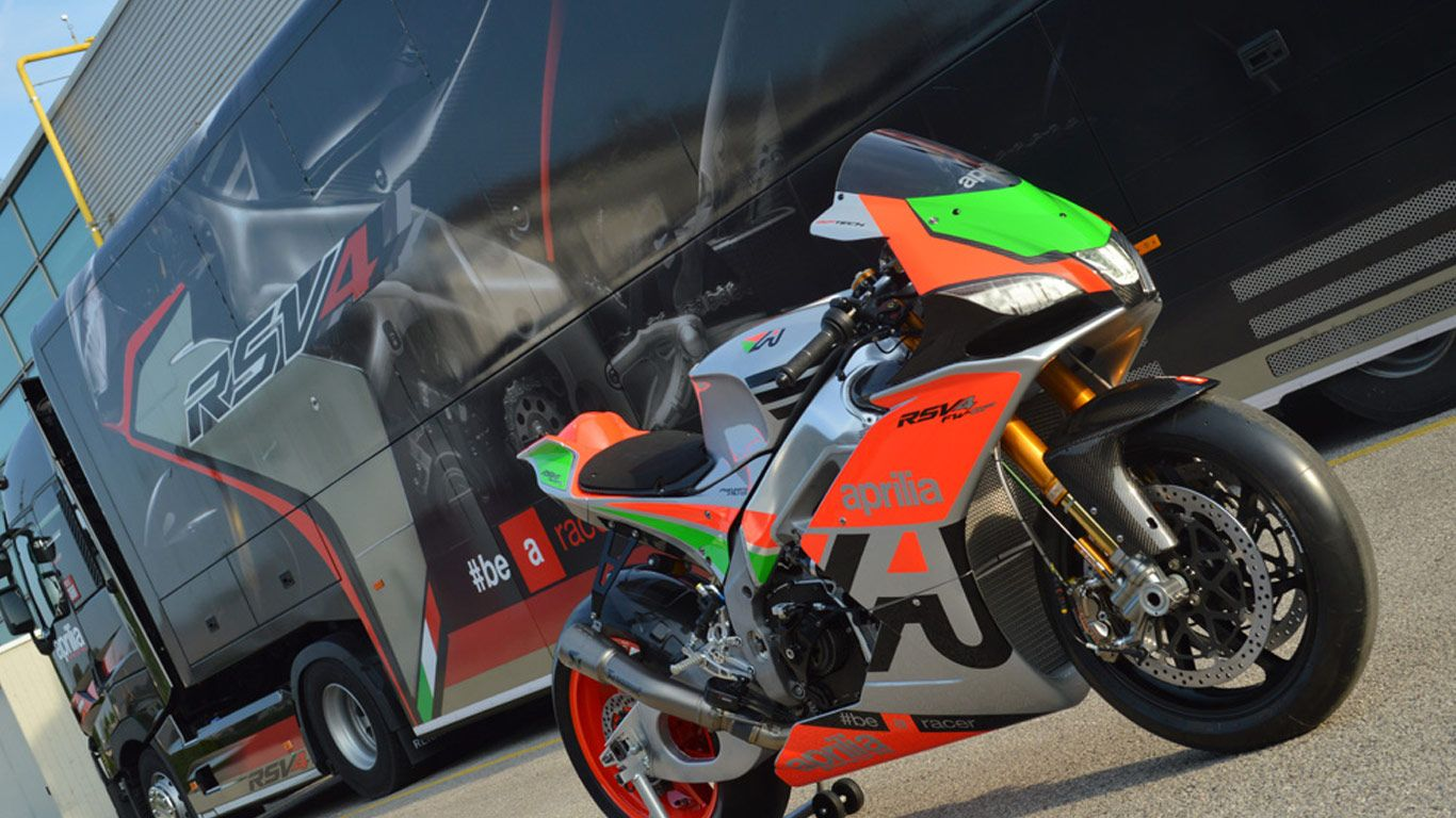 Aprilia bikes for sale at KFG Motorsports.