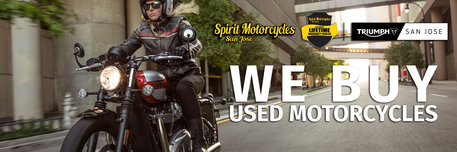We Buy Motorcycles!