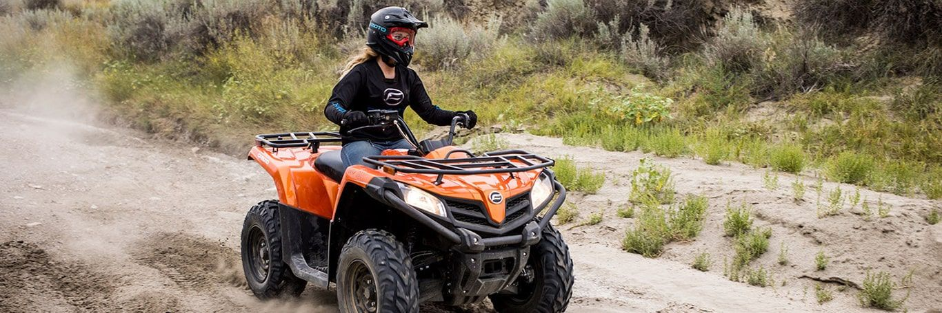 Explore CFMoto ATVs at Starr Cycle Inc.