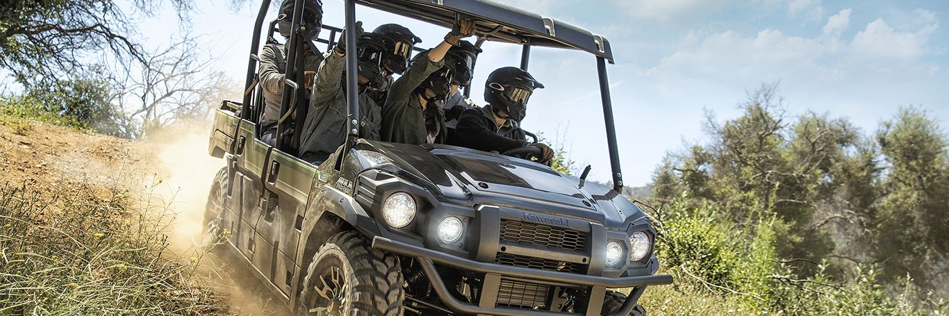 Explore the Kawasaki Mule at Starr Cycle Inc.