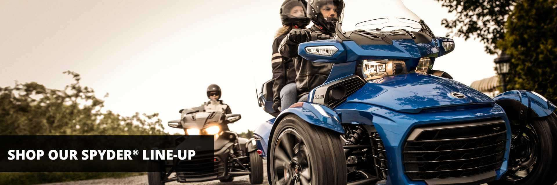 Broadway Powersports | Shop Spyder Line-Up