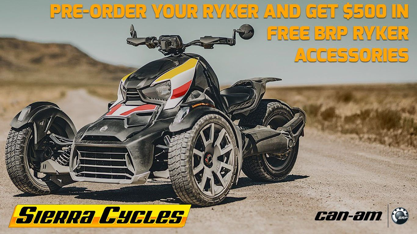 Pre-order the Can-Am Ryker at Sierra Cycles in Sierra Vista, AZ