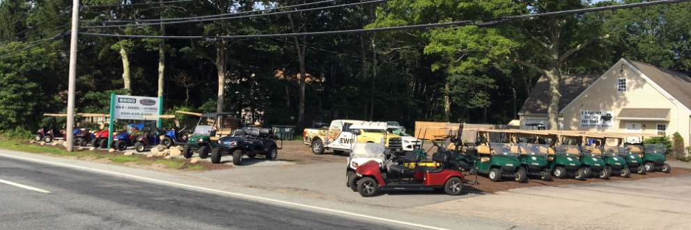 E W Gardner Golf Cars serving Massachusetts , Connecticut