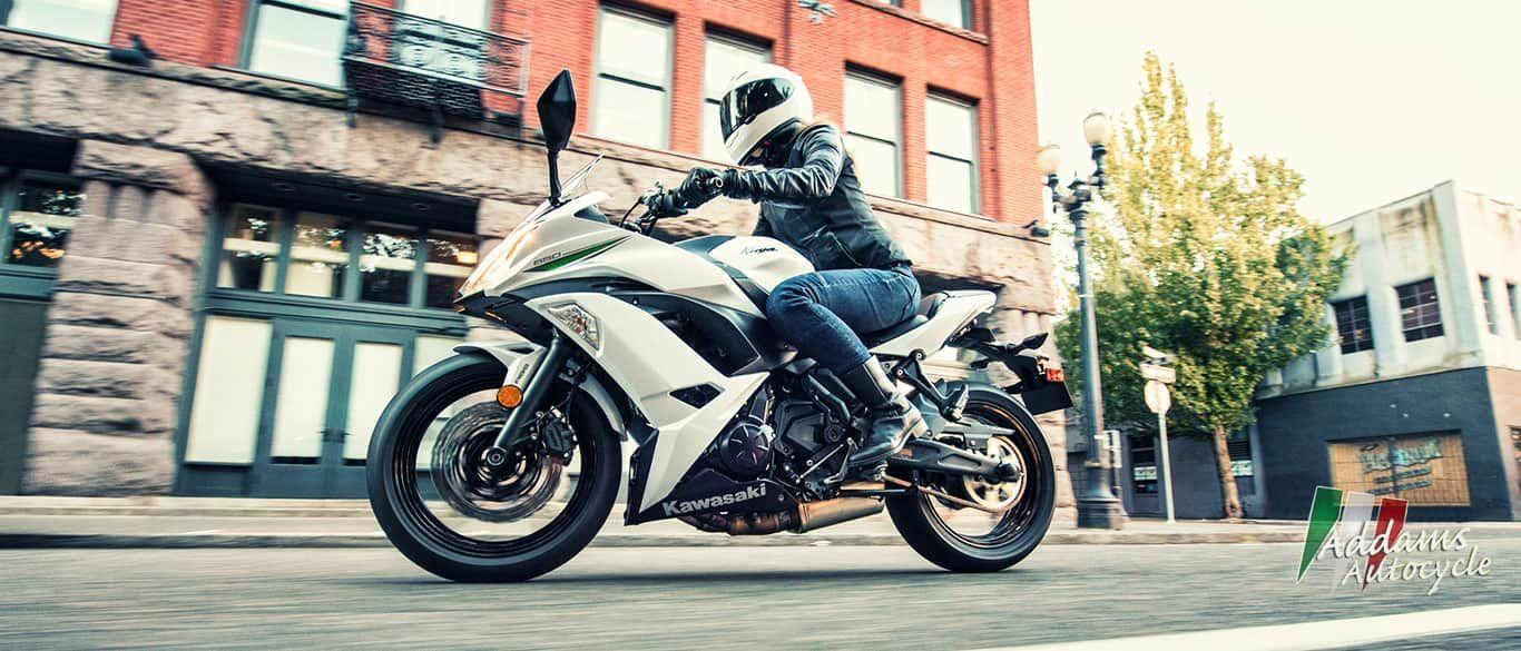 Kawasaki is sold at Addams Auto Cycle | Harmony, PA