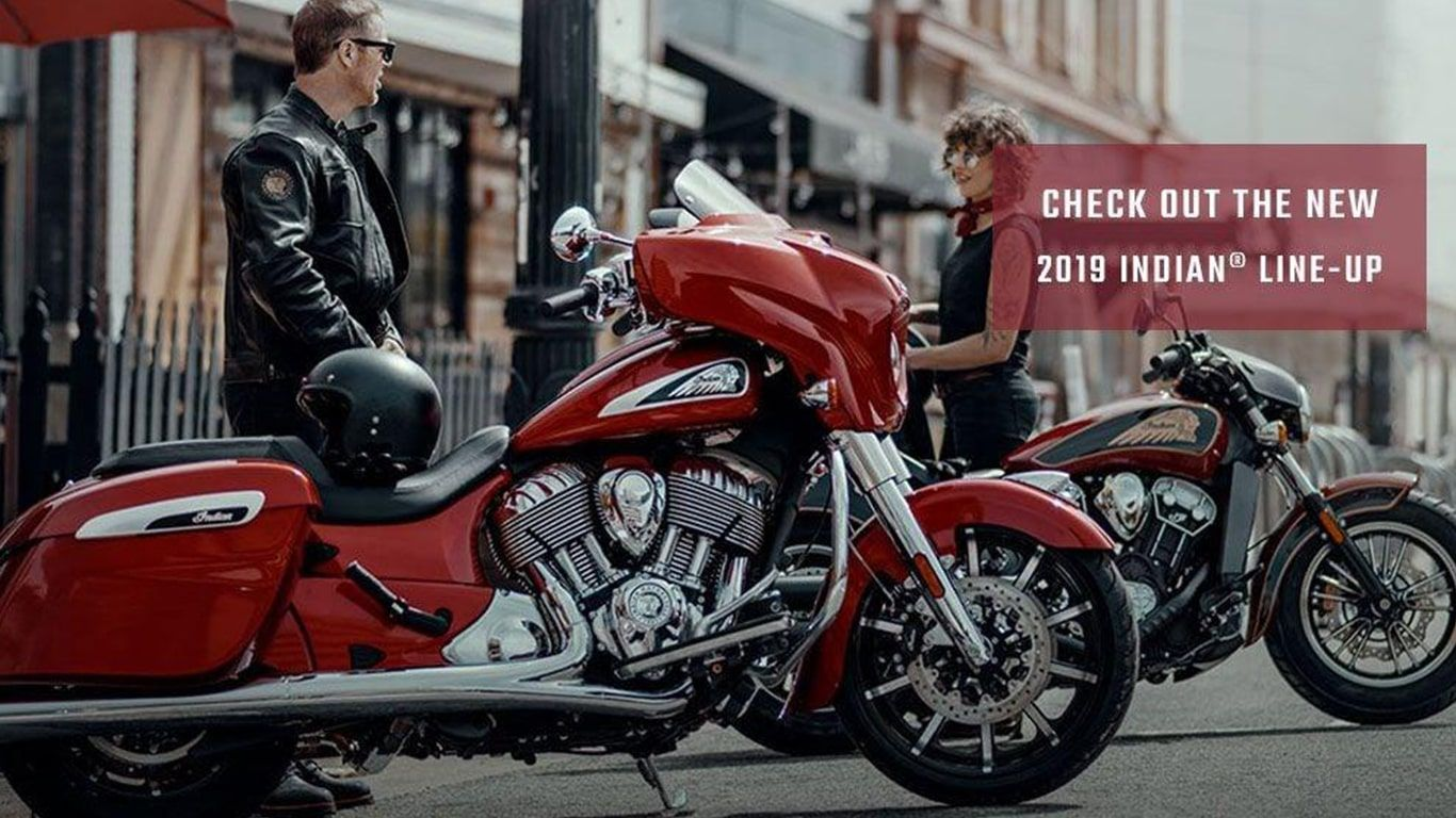 Check out the new 2019 Indian Motorcycle Line-Up