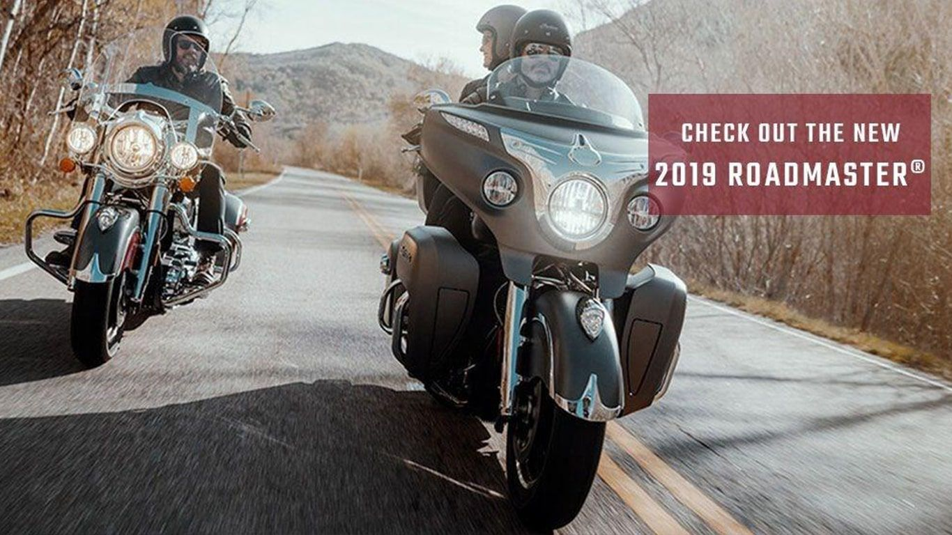 Check out the new 2019 Indian Roadmaster