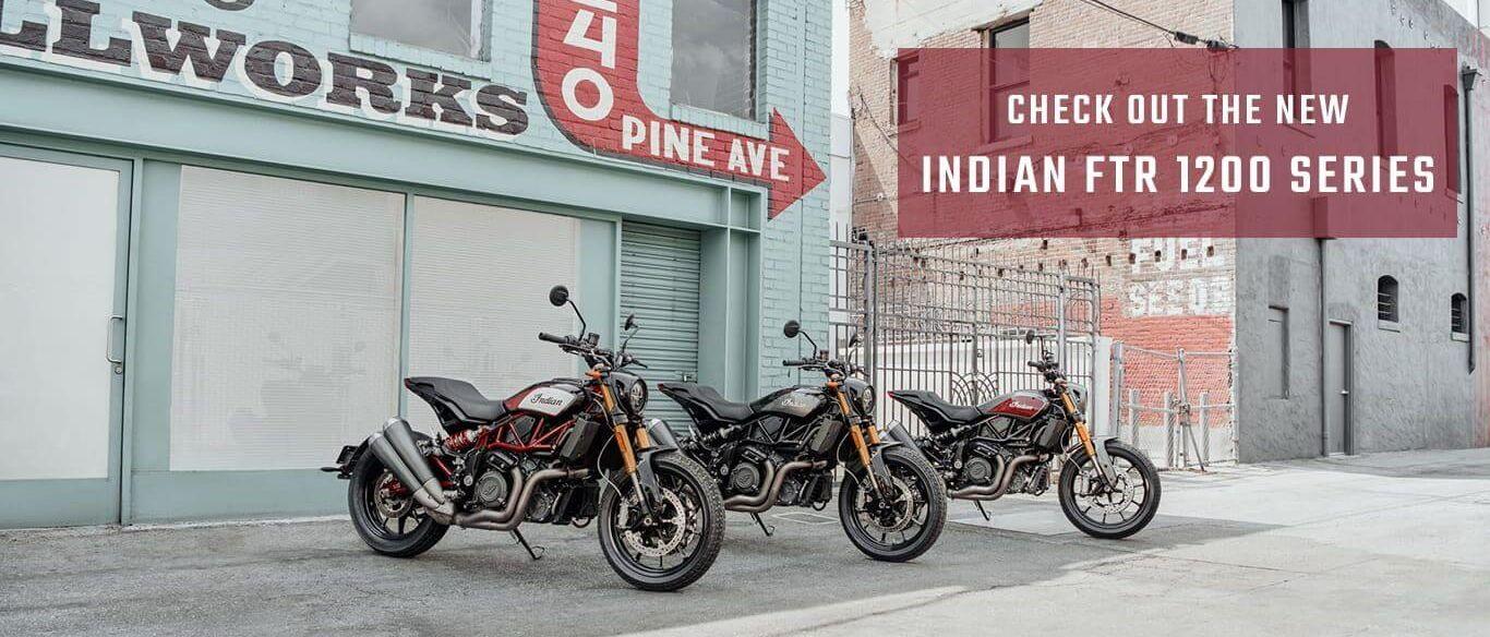 Indian Motorcycles 2019 FTR 1200 Series