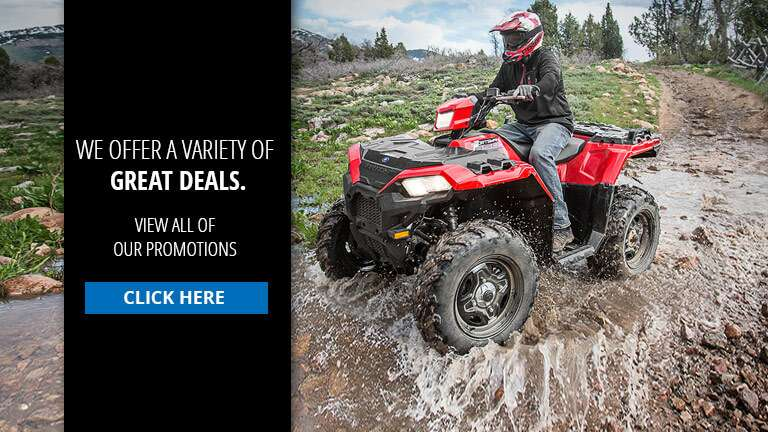 Promotions offered at Rocky Ridge Powersports & Outdoors.