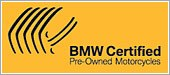 BMW Certified Pe-Owned Motorcycles