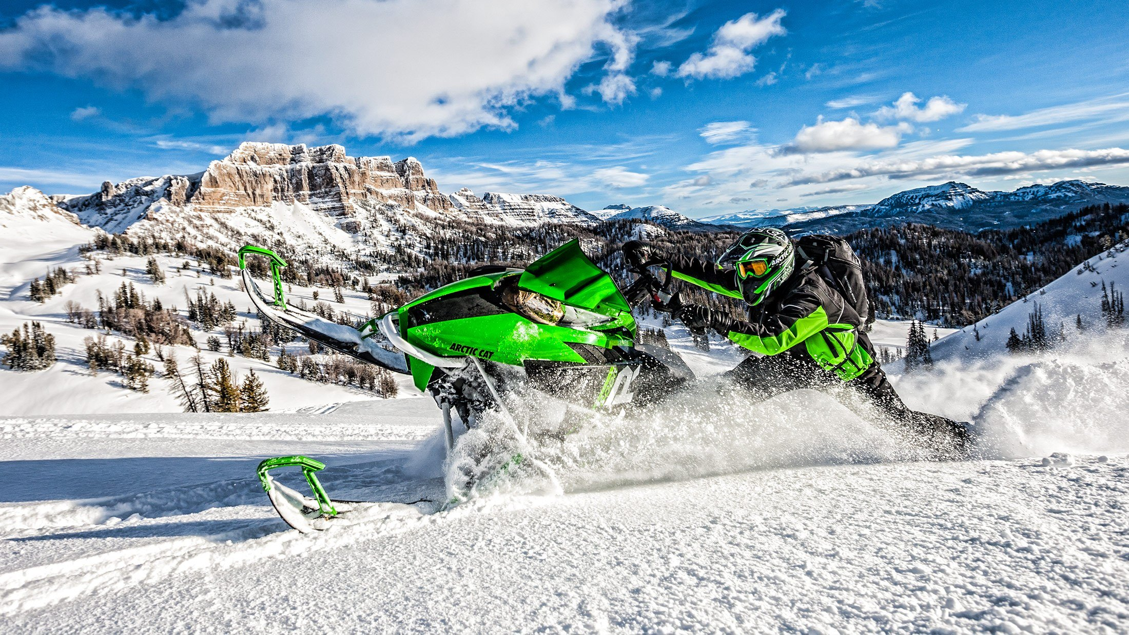 "2016 Arctic Cat M 8000 141"" SE in Trego, Wisconsin"
