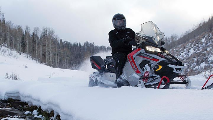 2015 Polaris 600 Switchback® Adventure in Hancock, Wisconsin