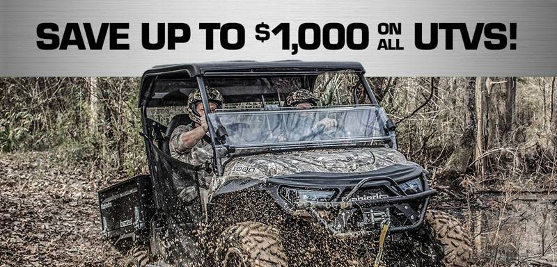 Mahindra - Save up to $1000 on ALL UTV's