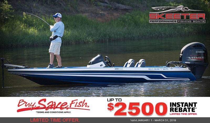 Skeeter - Buy. Save. Fish Limited Time Offer.