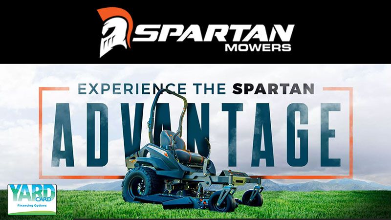 Spartan Mowers - Yard Card Financing Programs