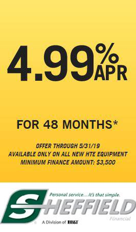Hustler Turf Equipment - 4.99% ARP for 48 Months