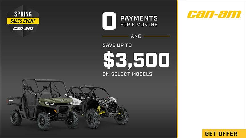 Can-Am - Spring Sales Event - SSV