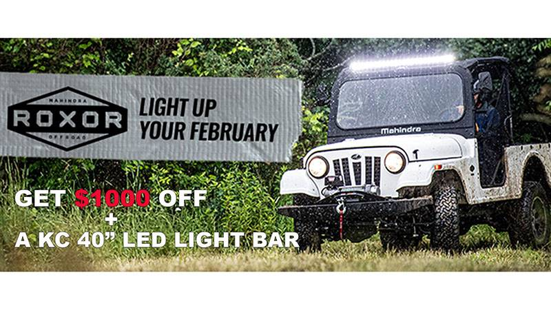 Mahindra Roxor - Light Up Your February