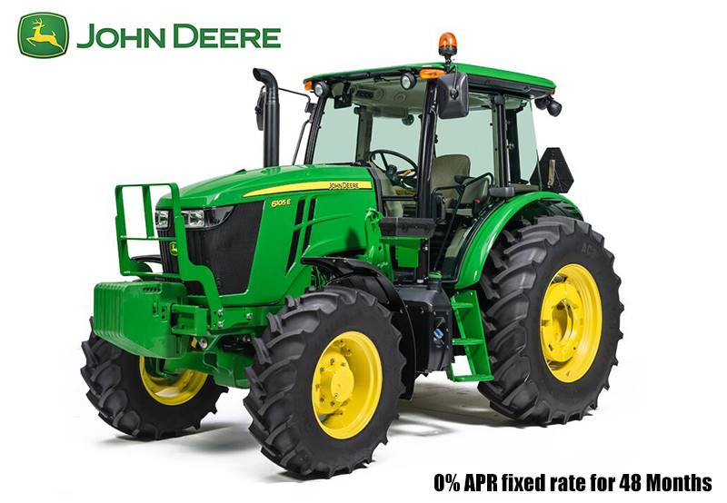 John Deere - 0% APR fixed rate for 48 Months on 6E Series Tractors