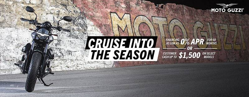 Moto Guzzi - Cruise Into The New Year