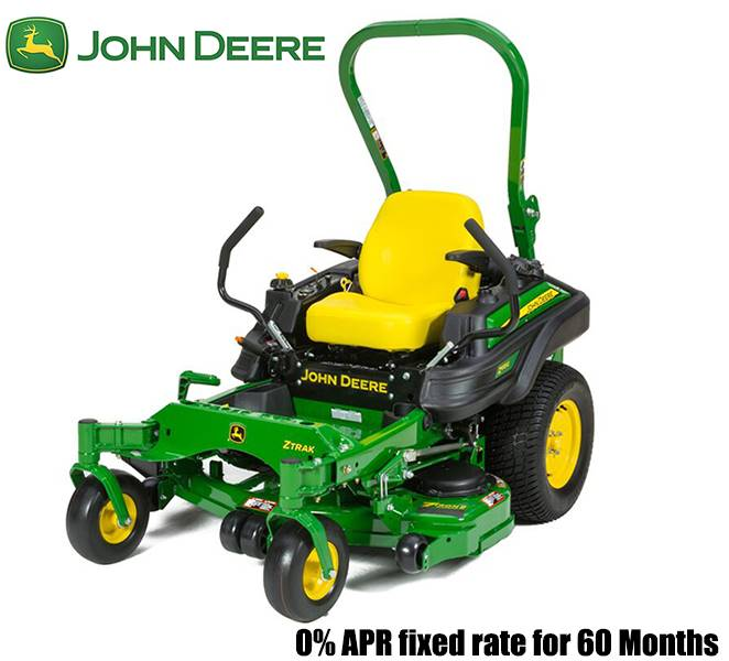 John Deere - 0% APR fixed rate for 60 Months