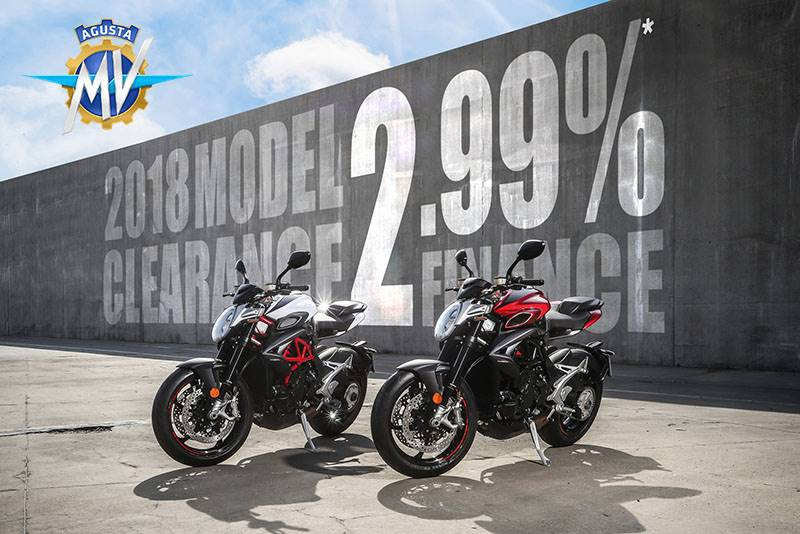 MV Agusta - Low Rate Finance Offer+