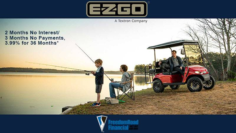 E-Z-GO - FreedomRoad Financial - 2 Months No Interest / 3 Months No Payments, 3.99% for 36 Months*
