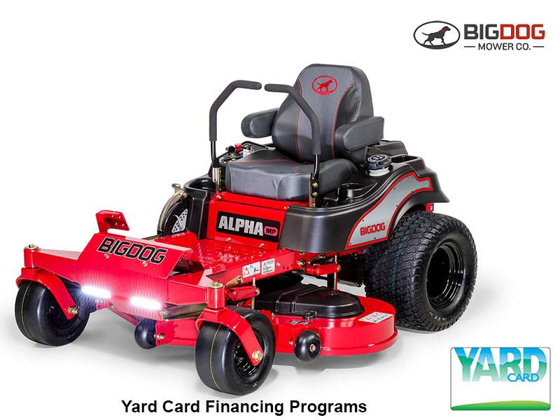 Big Dog Mowers - Yard Card Financing Programs