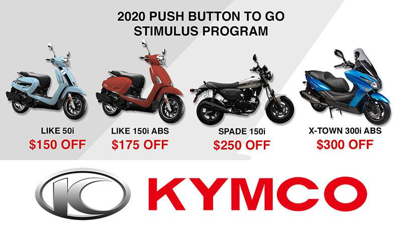 Kymco - Push Button To Go Stimulus Program