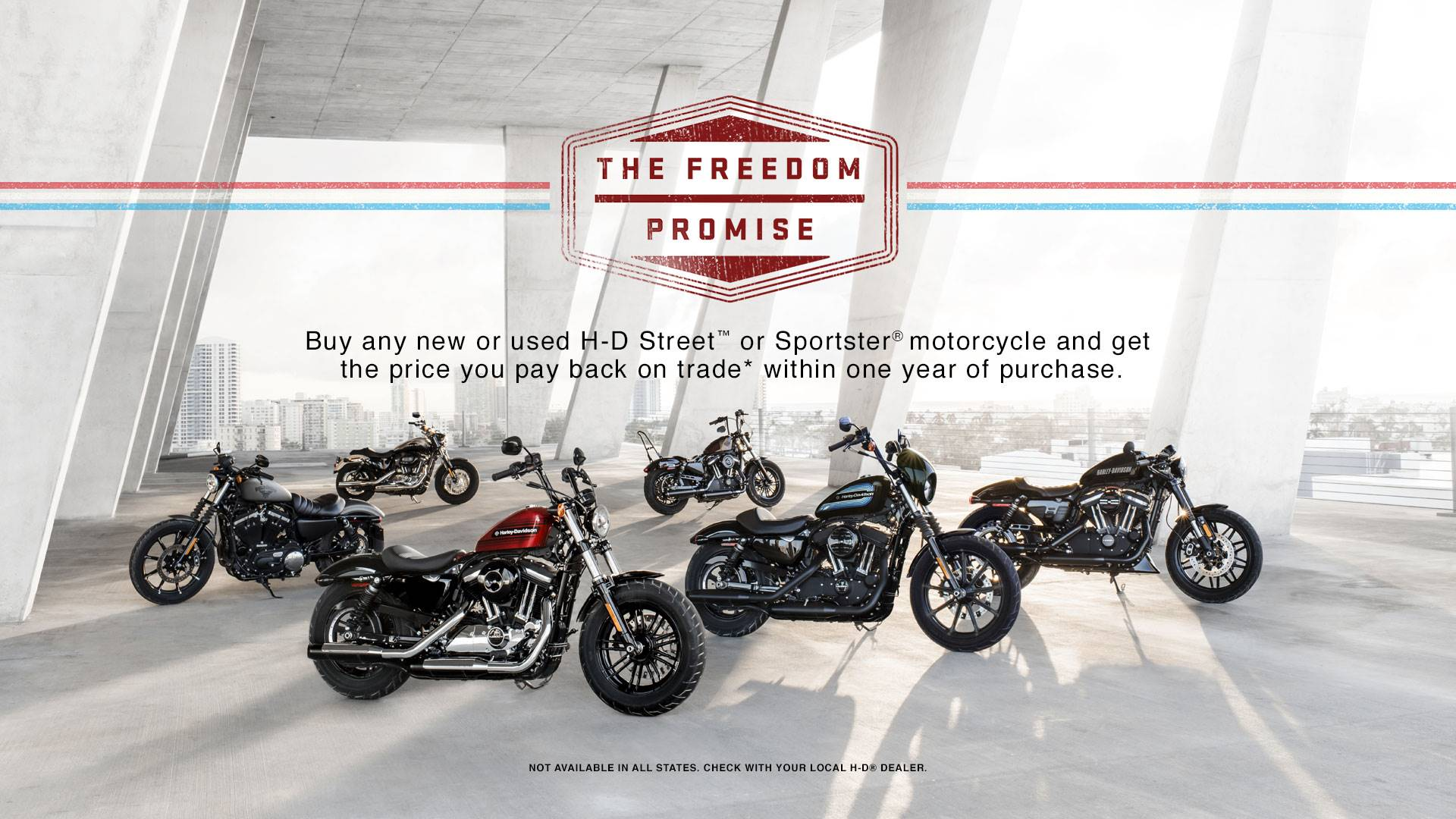 Harley-Davidson FREEDOM PROMISE PROGRAM