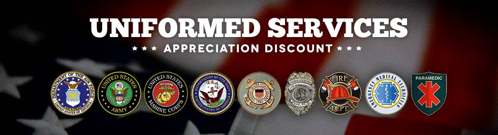 Kymco Armed Forces Appreciation Sale!