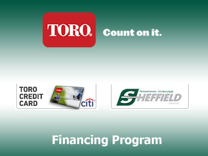 Toro - Financing Promotions