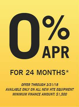 Hustler Turf Equipment 0% for 24 Months!