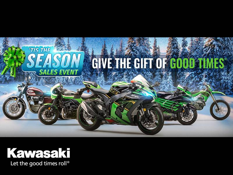 Kawasaki - 'Tis The Season Sales Event