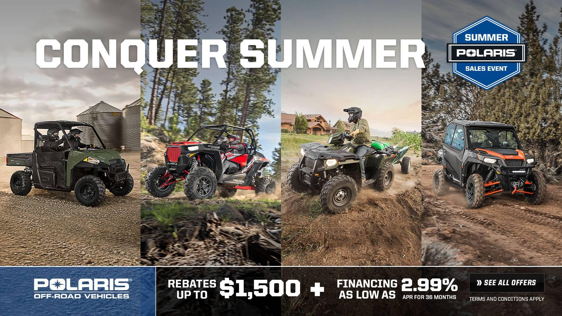 Polaris Summer Sales Event