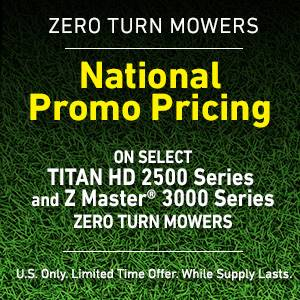 Toro - National Promo Pricing
