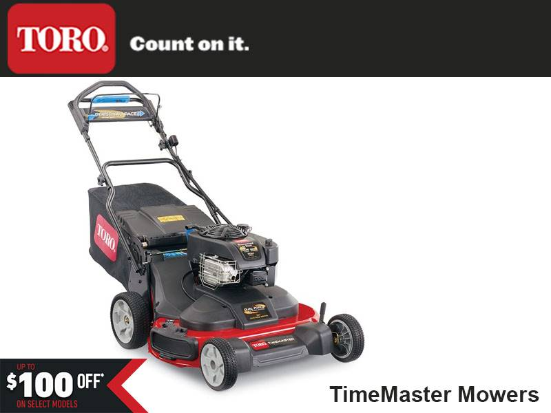 Toro - Sale $100 Off TimeMaster Mowers