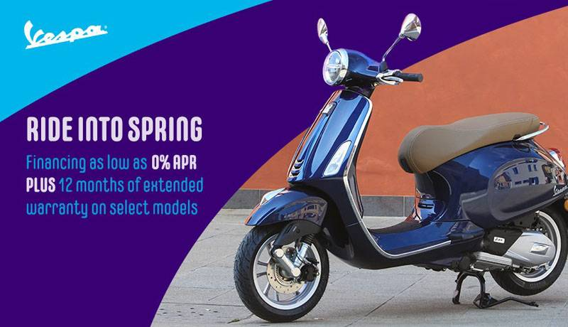Vespa - Ride Into Spring