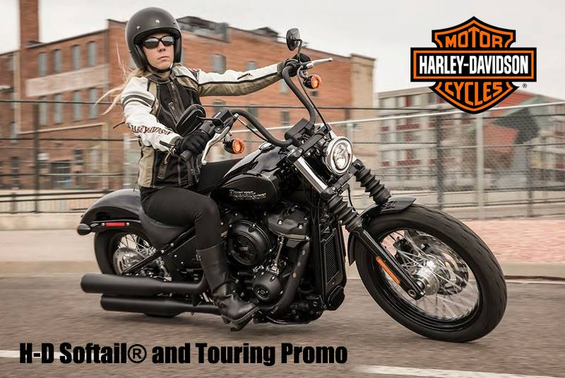 Harley-Davidson - H-D Softail® and Touring Promo
